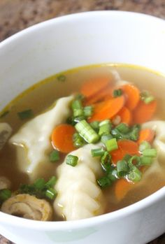 Asian Dumpling Soup | Tasty Kitchen: A Happy Recipe Community!