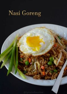 Nasi Goreng Indonesian style Fried rice #indofood #indonesian #nasigoreng