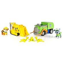 Paw Patrol Adventure Bay Rescue Animal Rescue Set - Rocky & Rubble Toys R Us Exclusive Kids Store, Toy Store, Paw Patrol Toys, Toys R Us Canada, Rescue Vehicles, Buy Toys, Baby Blog, Cool Toys, Animal Rescue