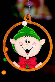"""Esferas para Arbol de Navidad """"Duende"""" Revista Roel Imagina y Crea. Magia, Luz y Color en esta Navidad."""
