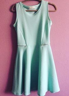 Kup mój przedmiot na #vintedpl http://www.vinted.pl/damska-odziez/krotkie-sukienki/13284609-mietowa-sukienka-z-reserved-s