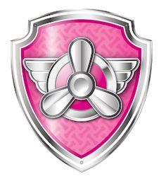 Paw Patrol Png, Paw Patrol Clipart, Paw Patrol Badge, Paw Patrol Party, Paw Patrol Birthday, Paw Patrol Skye, Paw Patrol Everest, Paw Patrol Marshall, Escudo Paw Patrol