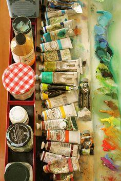 artistandstudio: artist's palette
