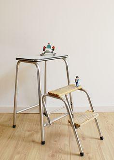 Formica Tafel Uitschuifbaar.Kekke Vintage Formica Tafel Witte Retro Keukentafel Uitschuifbaar
