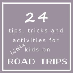 Tips For Surviving Car Travel with Kids