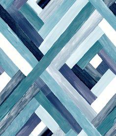 Wynwood Geometric York Wallpaper Wallpaper York Wallcoverings Blues Contemporary Wallpaper Geometric Wallpaper Sure Strip, Sure Strip, Easy to clean , Easy to wash, Easy to strip Paper Wallpaper, Striped Wallpaper, Room Wallpaper, Wallpaper Roll, Blue Geometric Wallpaper, Geometric Art, Plain Wallpaper, Wallpaper Size, Dark Wallpaper