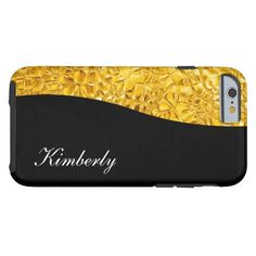 Classy Luxury Gold Look iPhone 6 Case