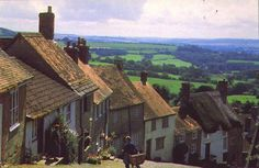 I love this photo of the English Countyside, the vintage look of the picture only makes the picture even better.