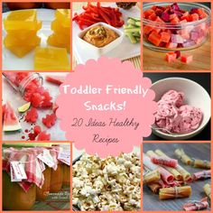 Healthy Snacks for kids! 20 Toddler friendly ideas that are sure to please! www.cocoswell.con