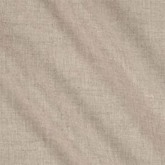 European Linen Blend Washed Natural from @fabricdotcom  This luxurious lightweight linen blend fabric is smooth and soft and is perfect for lovely draperies, swags, duvet covers and toss pillows.