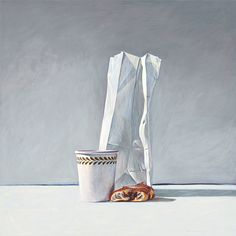 Holly Golightly's Frühstück. Limitierte Auflage Giclee print.