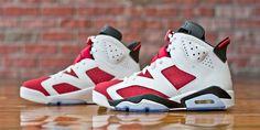 "Air Jordan 6 Retro ""Carmine"" - Release Reminder"