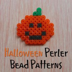 Halloween Perler Bead Patterns, Designs, Ideas and Inspiration for Fused Beads Perlers and Hama Crafts