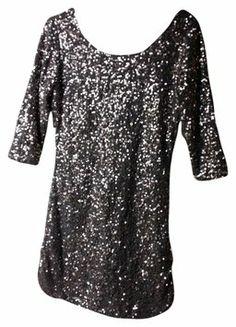Lauren Conrad Sequin Scoop Neck Dress $28