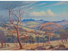 Buy online, view images and see past prices for Jacob Hendrik Pierneef SOUTH AFRICAN Invaluable is the world's largest marketplace for art, antiques, and collectibles. Landscape Art, Landscape Paintings, Most Expensive Painting, African Paintings, South African Artists, Malva, Africa Art, Watercolor Trees, Watercolor Painting
