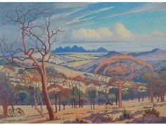 Jacob Hendrik Pierneef; Extensive Landscape Northern Transvaal