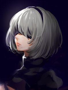 Art Manga, Anime Art Girl, Fantasy Characters, Female Characters, Otaku Anime, Manga Anime, Drakengard Nier, Character Art, Character Design