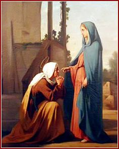 BLESSED art thou amoung women and blessed is the fruit of thy womb, JESUS. Blessed Mother Mary, Blessed Virgin Mary, Religious Images, Religious Art, Mary In The Bible, Jesus In The Temple, Jesus E Maria, Saint Jean Baptiste, Madonna Art