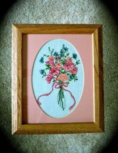 70 OFF SALE  Flower Bouquet Cross Stitch by DocksideDesigns, $7.35
