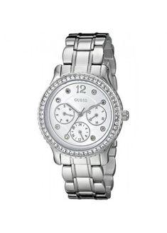 Orologio GUESS Donna Acciaio, IP Rosa Cronografo w0122l3