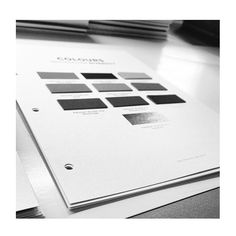 In one week we will launch pej forecast AW 16/17. The book is coming along and the content is indeed more exciting than ever. Here is one the colour cards with original PANTONE swatches. @pantone @pejgruppen #pejtrend #pejproces #trend #futurenavigation #pejgruppen #forecasting #colours
