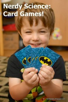 Nerdy Science: Card games for preschoolers