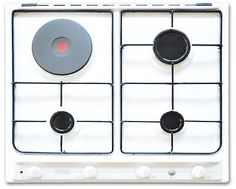 Built-in #cooking hob 60 cm white 3 gas #burners 1 electric plate de #longhi b36a,  View more on the LINK: http://www.zeppy.io/product/gb/2/371398422178/