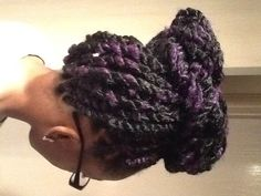 Purple n' black - Marley Twists