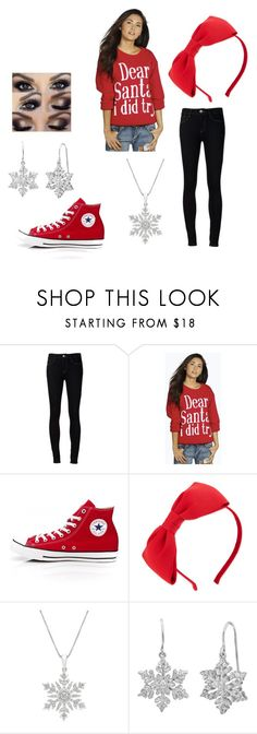 """""""Christmas Shopping"""" by pandaperson123 ❤ liked on Polyvore featuring Ström, Boohoo, Converse, Kate Spade and Amanda Rose Collection"""