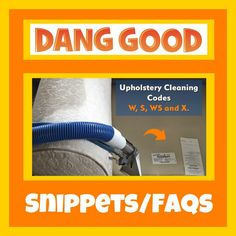 Want to know what those Upholstery Cleaning Codes mean? Fabric Codes are just one way to establish whether your furniture can be Professionally Steam Cleaned. Steam Cleaning, Cleaning Hacks, Organization Hacks, Organizing, Professional Upholstery Cleaning, How To Clean Furniture, Best Carpet, Spot Cleaner