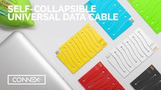 CONNEX: Self-Collapsible Universal Cable