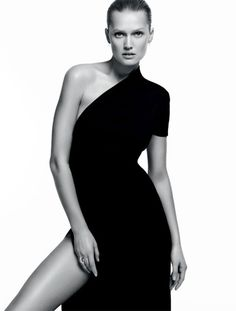 thesocietynyc: Toni Garrn for the harpersbazaarbr April 2015 issue, photographed by David Roemer and styled by Katie Burnett