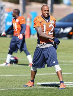 Thursday Practice, Andre Caldwell getting ready for the Eagles