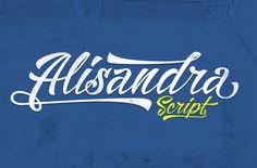Alisandra Script by Mikrojihad on Creative Market