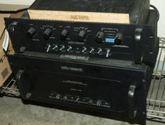 LOT OF STEREO EQUIPMENT INCLUDES AN AUDIO RESEARCH HIGH DEF STEREO POWER AMPLIFIER MODEL 125 AND AUDIO RESEARCH HIGH DEF PREAMPLIFIER.