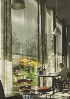 Charlotte Minty Interior Design: Home and Office of Peter Zumthor