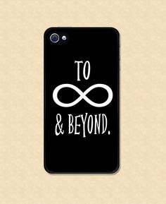 Iphone case To Infinity and Beyond Iphone 4 case Iphone 5 case Cover cool awesome Iphone 4s Case Samsung Galaxy S3 Case