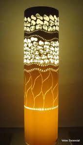 lamparas con tubos de carton - Buscar con Google
