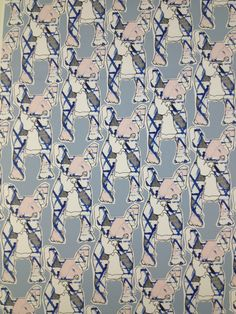 French bulldog pattern by Eleanor Smith Surface pattern design