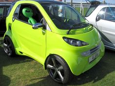 Oh, come ON....this board for for amazingly funny cars...and a erie green Smart Kar DEFINATELY counts as that!! LOL