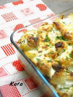KataKonyha: Zelleres rakott krumpli