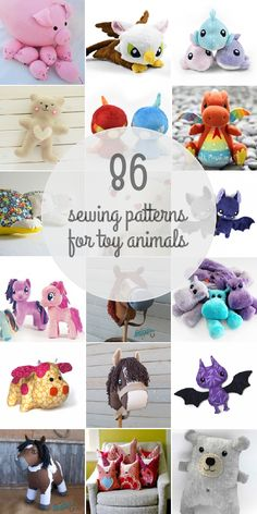 Sewing Patterns For Toy Animals