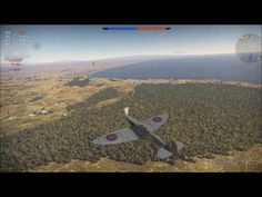 Spitfire в атаке/// War Thunder /// РБ(реалистичные бои)-нарезки
