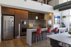 Open house | Julia Arieta. Veja: http://www.casadevalentina.com.br/blog/detalhes/open-house--julia-arieta-3124 #decor #decoracao #interior #design #casa #home #house #idea #ideia #detalhes #details #openhouse #style #estilo #casadevalentina #kitchen #cozinha