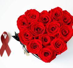 Heute ist WELT-AIDS-TAG  die rote Schleife ist weltweit das Symbol der Solidarität mit HIV-Infizierten und AIDS-Kranken. Unsere roten Infinity Rosen stehen für die Liebe zueinander und das positive Miteinanderleben weshalb wir die deutsche AIDS-Stiftung bei dem Kampf gegen AIDS unterstützen.