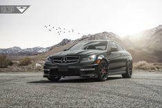 #Vorsteiner Creates Unique #Matte #Black #MercedesBenz C63 #AMG http://www.benzinsider.com/2015/06/vorsteiner-created-this-unique-matte-black-mercedes-benz-c63-amg/