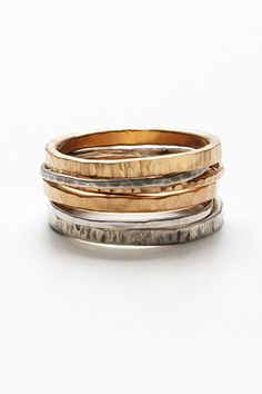 Extra Thin Copper Ring Thin Stacking Copper Ring Stackable Ring Hammered Textured Copper Ring Recycled Reclaimed Copper Rustic Eco