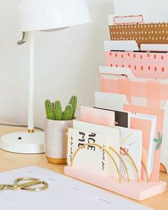 Happy Monday smileandwave has a super easy DIY on the blog that will up your organizing game by   Love this idea for extra Happy Mail cards too Link is in our profile  ABMcrafty