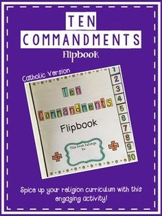 Welcome!  I am a fourth grade teacher in a Catholic school, and am always struggling to jazz up my religion curriculum...the textbook can be very boring for the students.  Also, I wanted the students to have a hands-on reminder of the 10 Commandments for years to come.  - Can be used with any textbook.  - RUBRIC included.Blessings,The Curious Apple