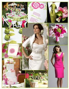 pink and lime
